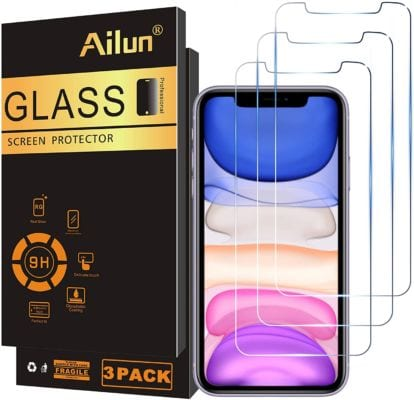 Ailun Glass Screen Protector Compatible for iPhone 12/iPhone 11/iPhone XR
